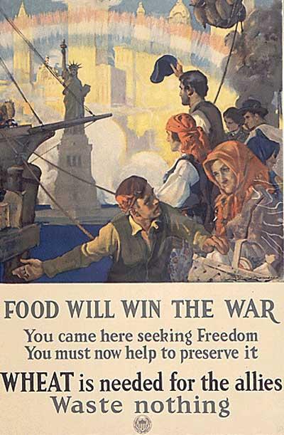 propaganda posters ww1. WWI Propaganda Posters | Food