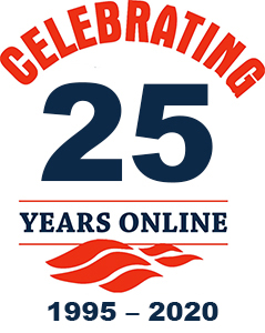 Online for 20 years, since 1995