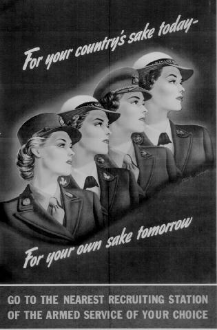 WWII propaganda poster - For Your Country's Sake Today